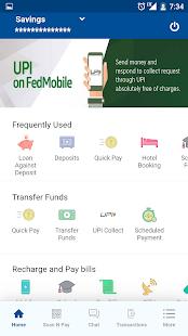 Federal Bank - FedMobile - náhled