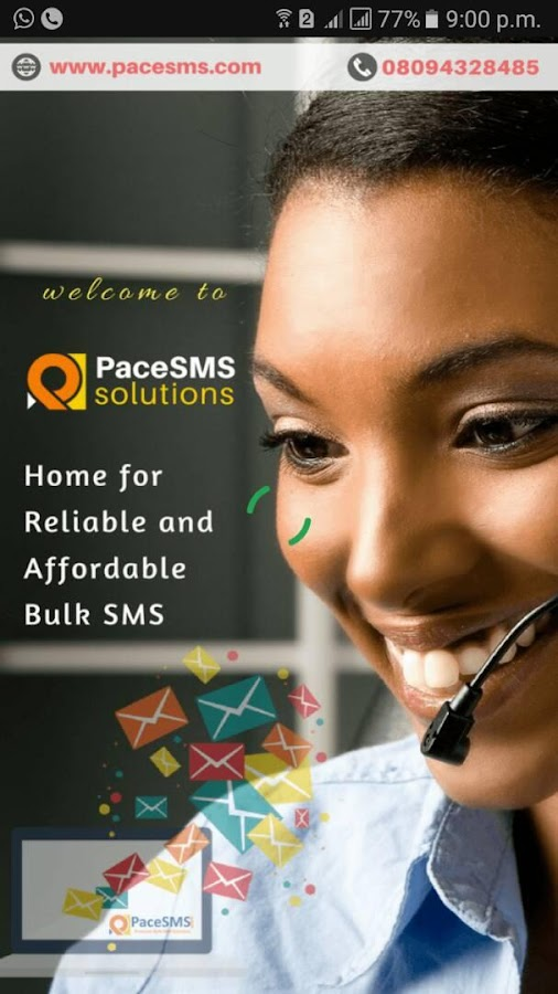 PaceSMS - Reliable Bulk SMS in Nigeria- screenshot