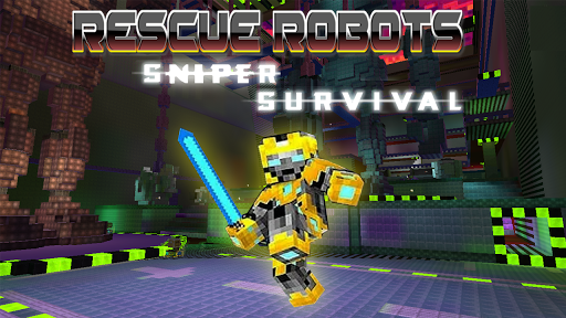 Rescue Robots Sniper Survival modavailable screenshots 1