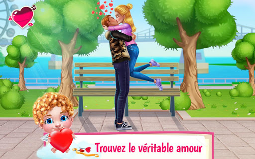 Premier baiser -  Mission romantique de Cupidon  captures d'écran 1