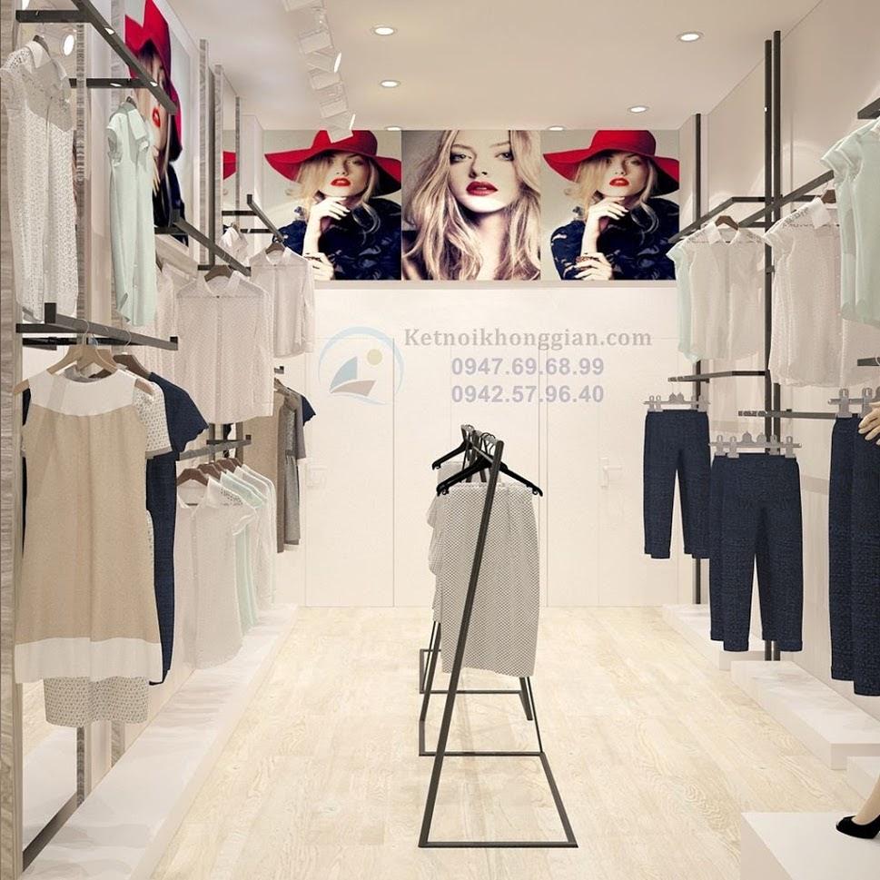thiết kế shop thời trang công sở uy tin và đẹp hàng đầu Việt Nam