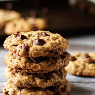 Cranberry Dark Chocolate Chip Oatmeal Cookies Recipe
