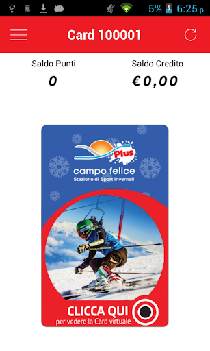 Campo Felice Fidelity Card
