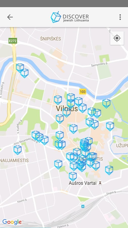 Discover Jewish Lithuania- screenshot
