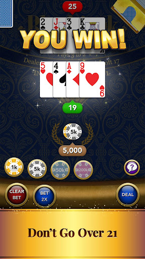 Blackjack Card Game screenshot 2