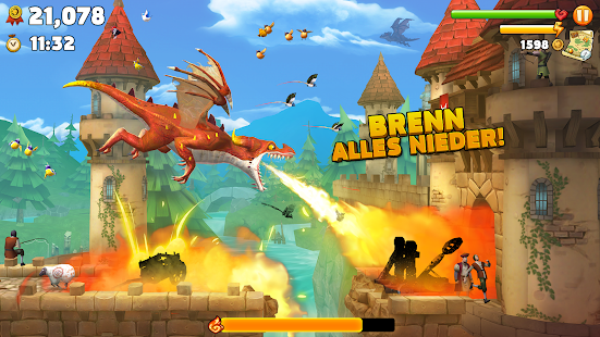 Hungry Dragon Mod Apk v1 28 Download (All Dragons Unlocked)