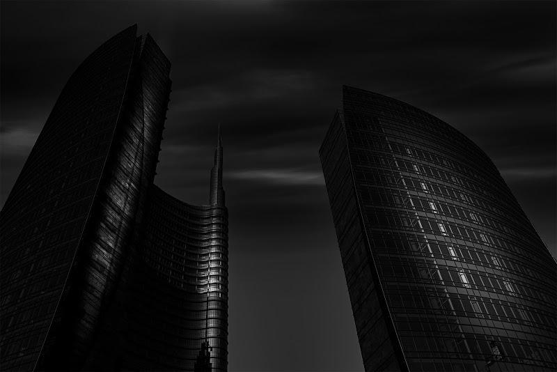 grattacieli nel buio di angart71