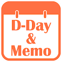 D-Day Counter And Memo Widget icon
