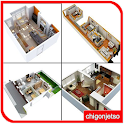 3D Small House Plans Idea icon