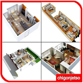 3D Small House Plans Idea