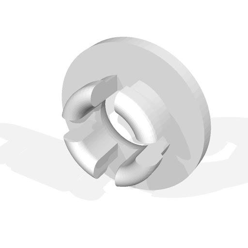 Kodama TRINUS エンクロージャー用フィラメント穴カバー