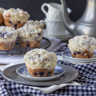 Simply Perfect Blueberry Muffins.