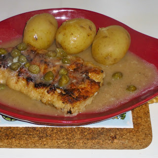 Fish Friday – Haddock in a Lemon and Caper Sauce