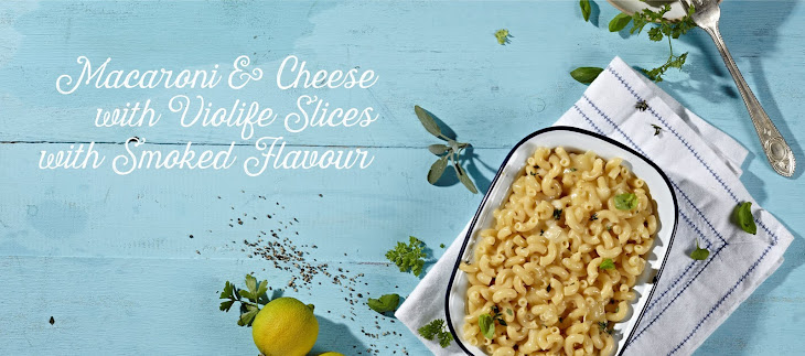Macaroni and Cheese with Violife Smoked Provolone