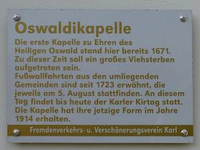 Photo: Wissenswertes  über die Wallfahrtkapelle