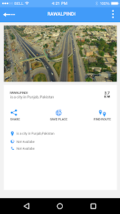 nálezce GPS trasy - náhled