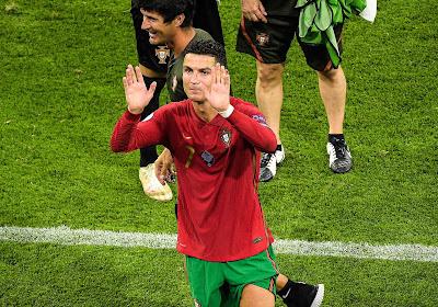 Ali Daei félicite Cristiano Ronaldo