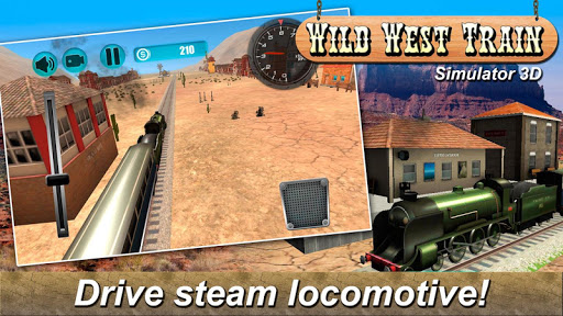 Wild West Train Simulator 3D