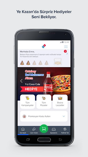 Domino's Pizza Turkey  screenshots 1