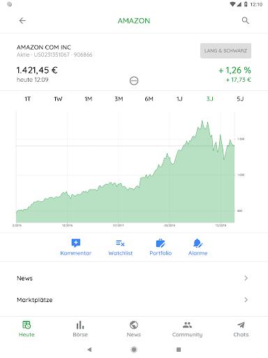 Börse & Aktien - BörsennewsApp  screenshots 11