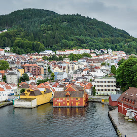 Bergen, Norway by Marcin Frąckiewicz - City,  Street & Park  Historic Districts ( bergen, norway )