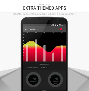 Atomic Red - CM12 CM13 Theme v3.35