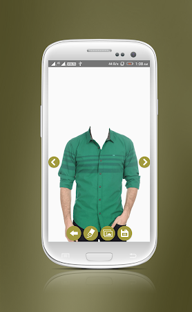 Man Casual Shirt Photo Suit 1.8 screenshot 2092294