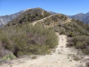 Photo: View north from the ridge back toward Sunset Peak