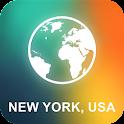 New York, USA Offline Map icon