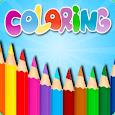 Kids Coloring Book Box