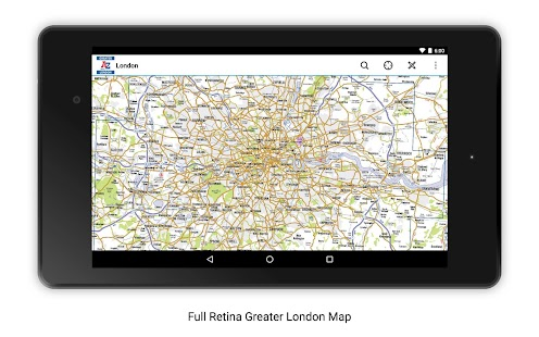 Greater London A-Z 2016- screenshot thumbnail