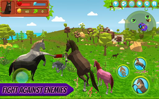 Horse Family u2013 Animal Simulator 3D apkmr screenshots 2