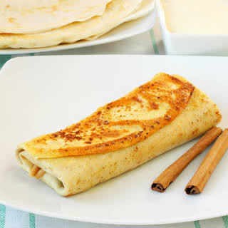 Cheese Blintzes.