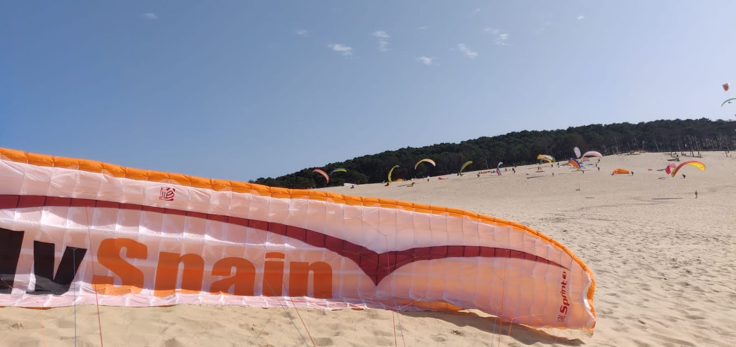 FlySpain at Dune De Pyla, France