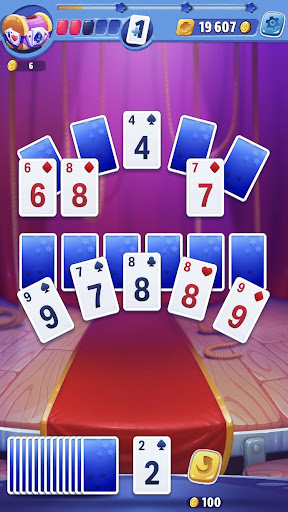 Solitaire Showtime: Tri Peaks Solitaire Free & Fun apkmr screenshots 8