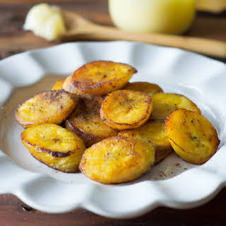 Paleo Fried Plantains.
