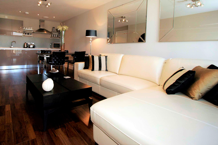Comfy living space at Lime Square