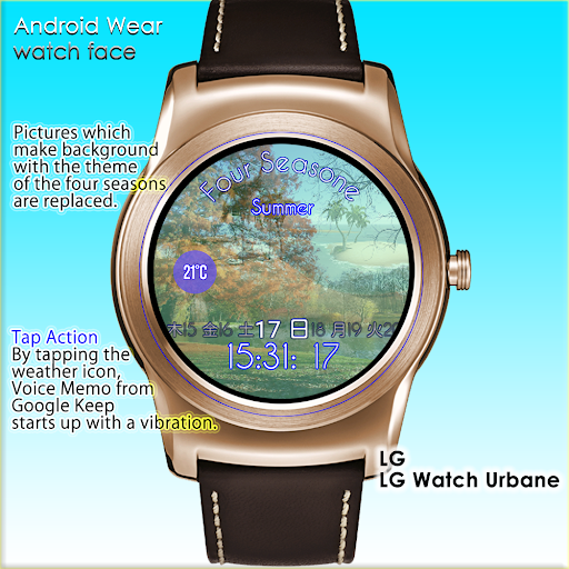 For Seasons Watch Face
