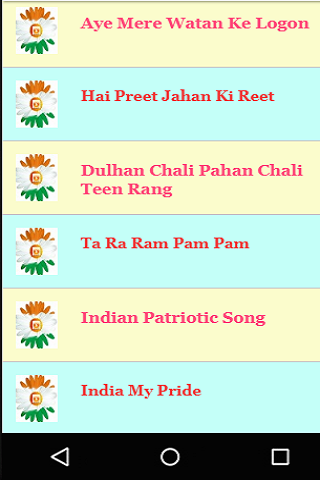 Great Indian Independence Day Songs Videos screenshot 6