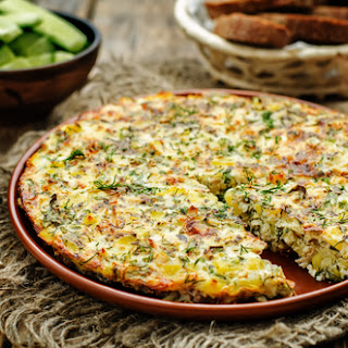 Frittata with Herby Potatoes Recipe