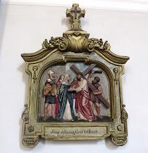 """Photo: *IV. stáció: Jézus szent anyjával találkozik """"Ó, mily nagy volt ama drága szűz Anya szomorúsága Egyszülött szent Magzatán""""(Stabat Mater)"""