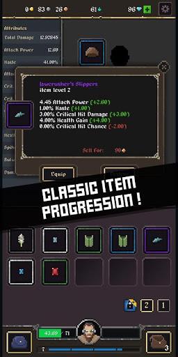Battleslain: Goblins idle RPG adventure  captures d'u00e9cran 2