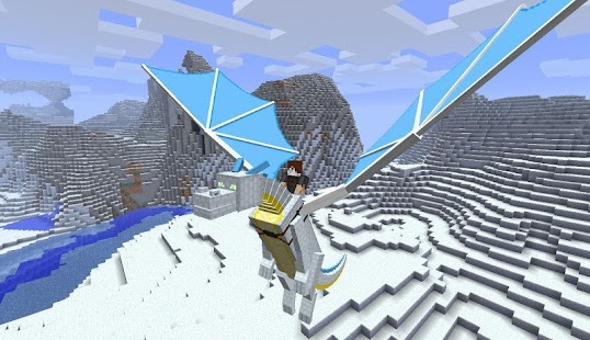 Dragons Addon for Minecraft PE - náhled