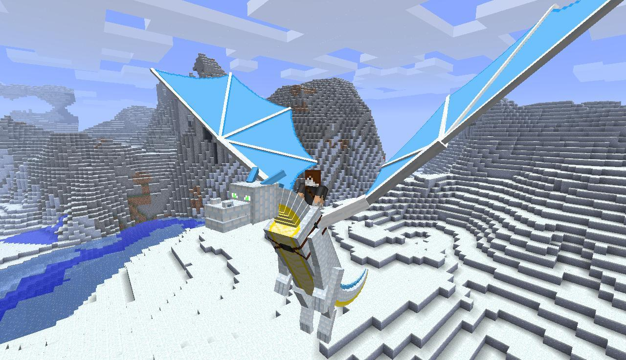 Dragons Addon for Minecraft PE- screenshot