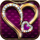 Diamond Love Theme Luxury Gold v 1.1.1 app icon