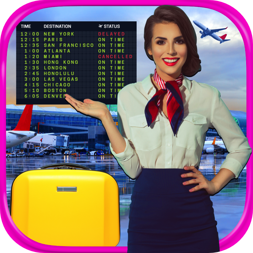 Real Airport & Flight Attendant Simulator FREE