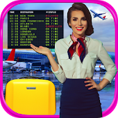 Real Airport & Flight Attendant Simulator FREE