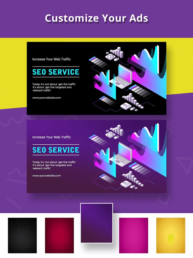 Banner Maker, Ad Maker, Web Banners, Graphic Art Screenshot 12
