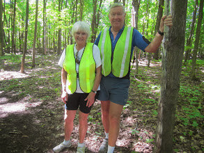 Photo: a beautiful couple ,Thanks,  Wayne for organizing all these wonderful trips