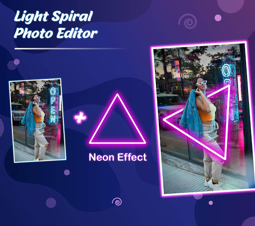 Light Spiral Photo Editor Apk 1